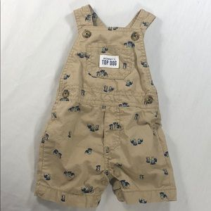 3M Baby Carter's Mommy's Top Dog Overalls Dog Cute